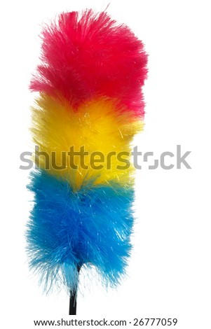 soft colorful duster