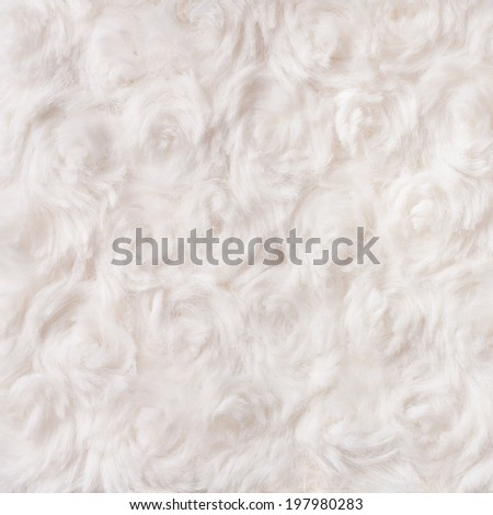 Soft Cotton Wool Background or Texture