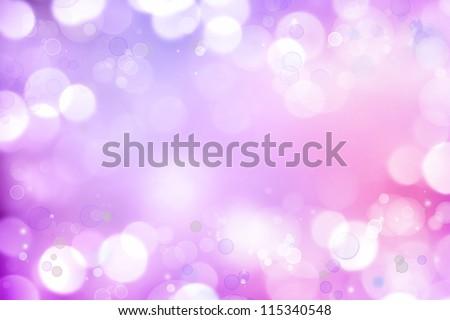 Soft focus circles purple pink background. - stock photo