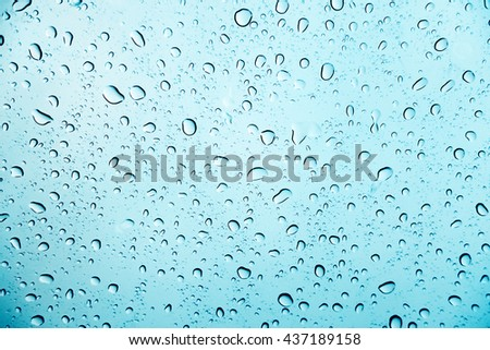 soft focus of water drop background.