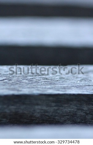 Soft Focus Timber Background - stock photo