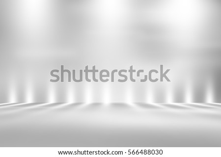soft gray studio room background, grey floor backdrop with spotlight