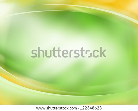 Soft green and yellow background