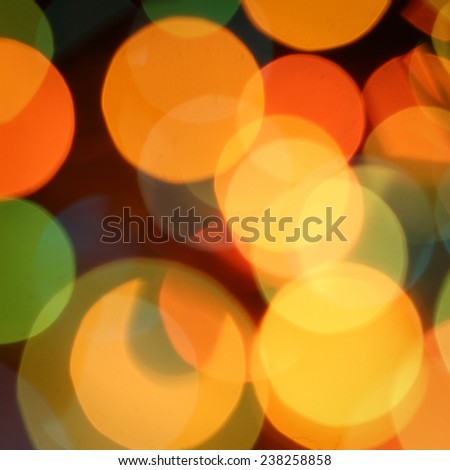 Soft lights background Beautiful big abstract xmas circular lights bokeh background - stock photo
