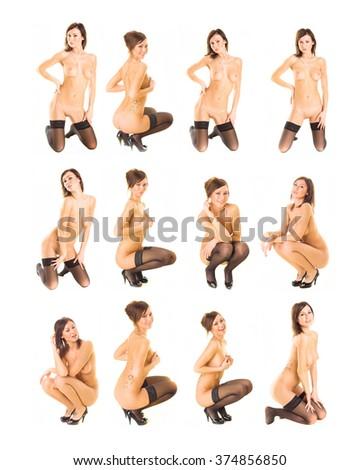 Soft Nudity Erotica  - stock photo