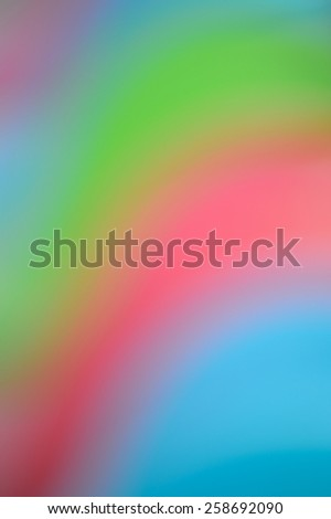 soft pastell color gradient blue pink green purple yellow - stock photo