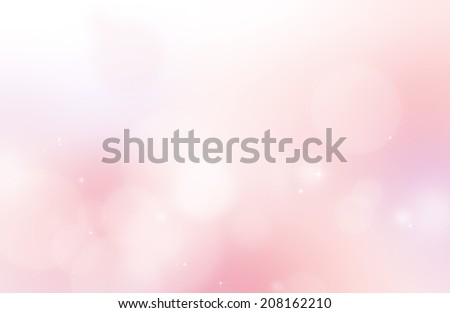 Soft pink shiny and glitter abstract background - stock photo