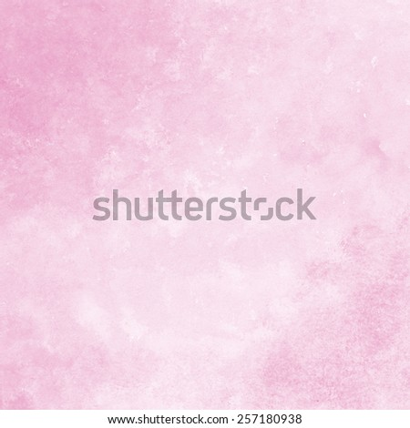 soft pink watercolor texture background, hand painted - stock photo