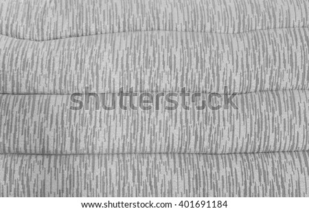 Soft Shiny Gray  Pattern Pillow Background Texture for Furniture Material - stock photo