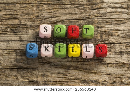 Soft Skills - stock photo