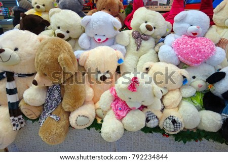 Soft toy - various Russian teddy bears