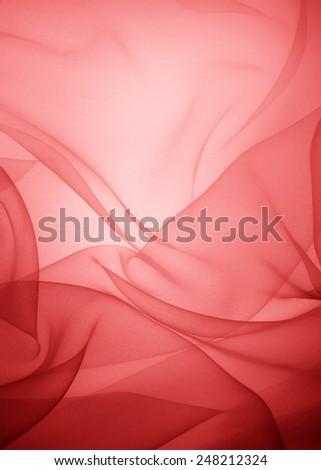 soft tulle background - stock photo