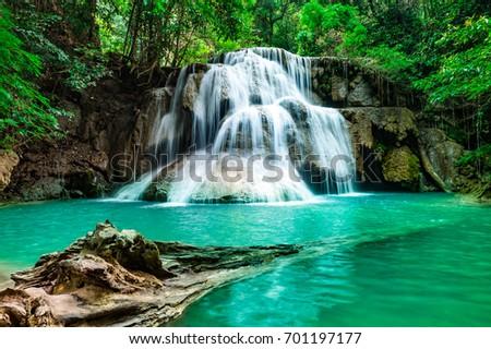 beautiful soft waterfall in - photo #13