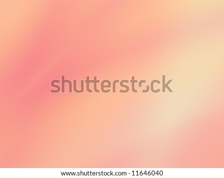 Softly blended shades of pink with a hint of peach and yellow make up this divine fractal background. - stock photo