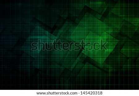 Software Development on a Mobile Platform Software - stock photo