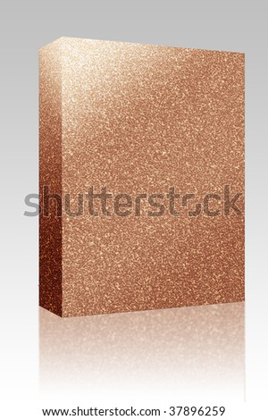 Software package box Cork board texture seamless background material pattern