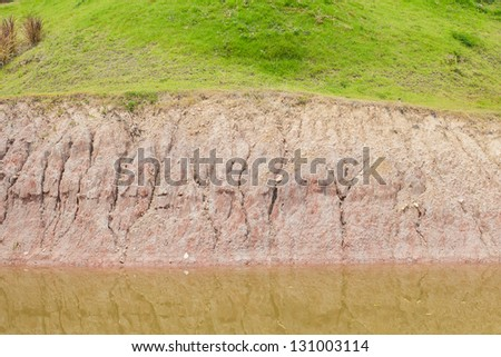 Soil and water - stock photo