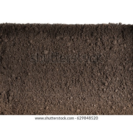 Soil or dirt texture