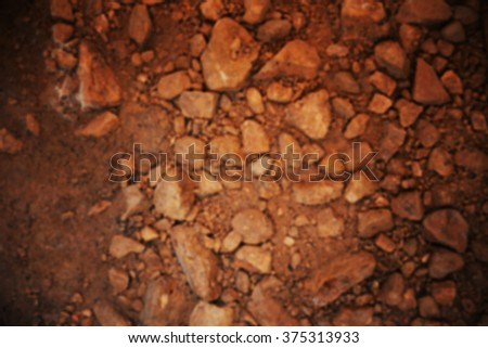 soil rock blur background
