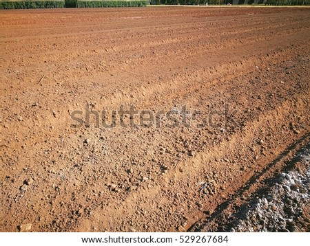 Soil surface background