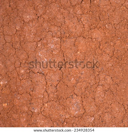 Soil texture background. - stock photo