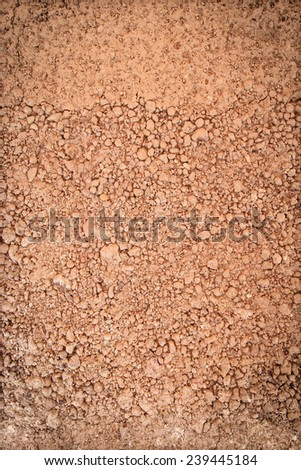Soil texture of natural background - stock photo