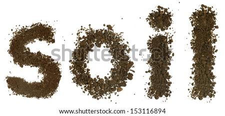 Soil alphabet letters p stock photo 152952509 shutterstock for Soil is composed of