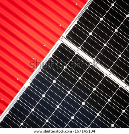 Solar - stock photo