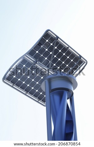 Solar And Wind Power Generator