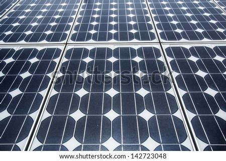 solar cell 02 - stock photo