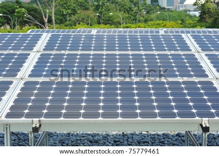 Solar Cell Panel Installation