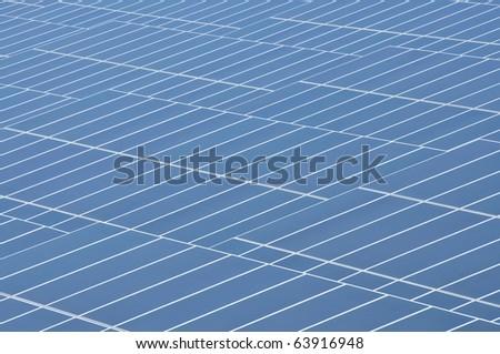 Solar Cell Pattern - stock photo