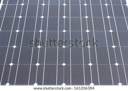 solar cell texture - stock photo
