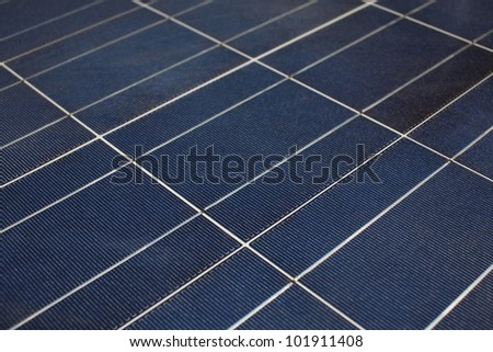 solar cell texture close up.