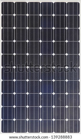 Solar energy photovoltaic panel for free energy