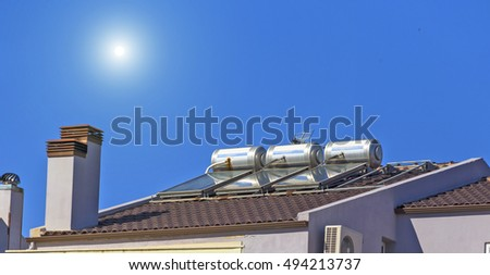 solar heaters sun chimney