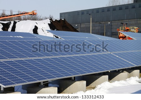solar panel energy renewable