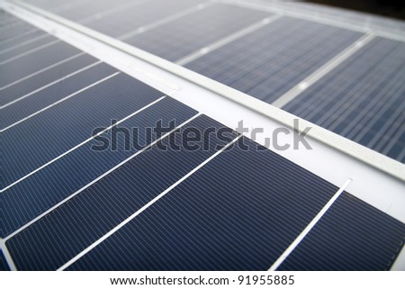 solar panels side by side Solar Energy