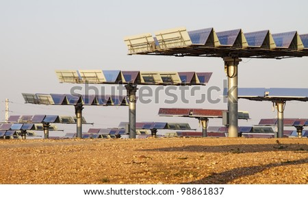 solar plant taking advantage of our most valued resource