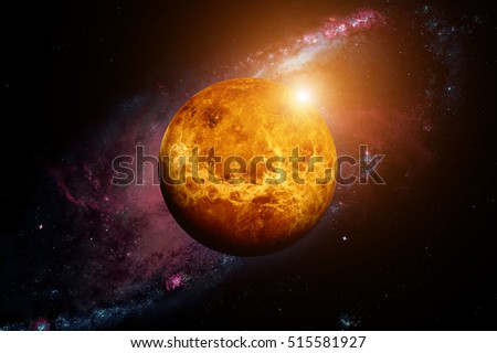 An overview of the planet venus the second planet in the solar system