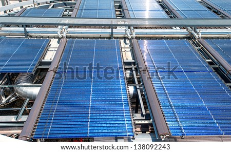 Solar water heater stock images royalty free images vectors shutterstock - Solar barcelona ...