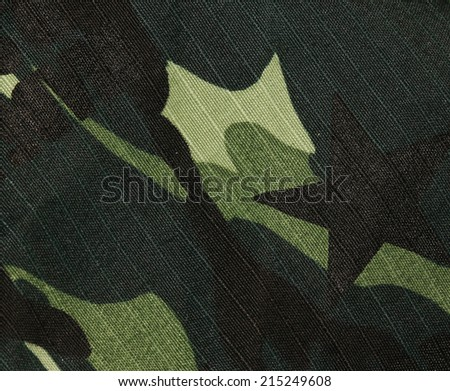 soldier Fabric - stock photo