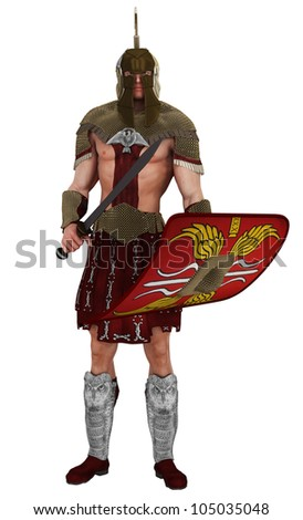 soldier on guard - stock photo