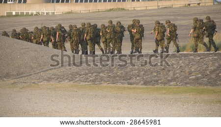 soldiers - stock photo