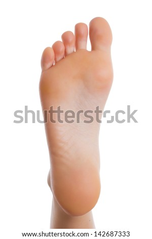 Back Of Foot Shoe Tip Toe