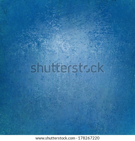 solid blue background wall paint with detailed vintage grunge background texture stain for luxury web background layout design, blue  - stock photo