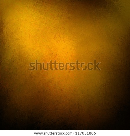 Solid Gold Background Abstract Distressed Antique Dark Texture And Grunge Black Edges On Elegant Wallpaper