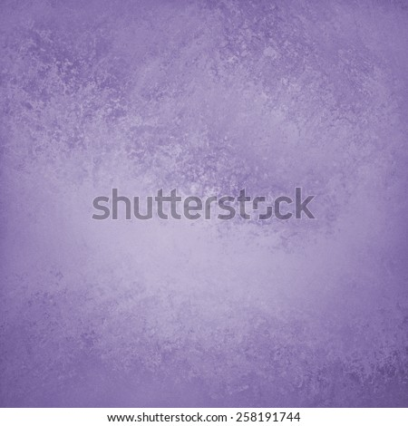 solid purple background design with distressed vintage texture and faint dark purple grunge border - stock photo