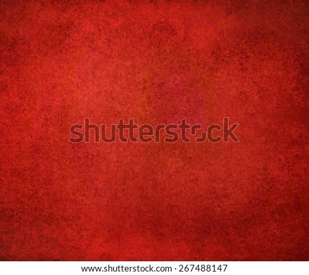 solid red background design with distressed vintage texture. Christmas background.
