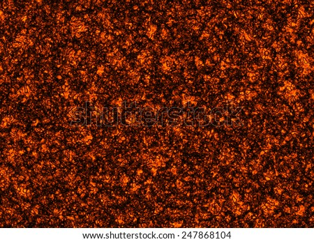 solidified hot coal fire texture - stock photo